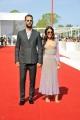 """75th Venice Film Festival 2018, Red carpet film """"Sulla mia pelle"""". Pictured: Alessandro Borghi, Roberta Pitrone"""