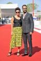 """75th Venice Film Festival 2018, Red carpet film """"Sulla mia pelle"""". Pictured: Alessandro Borghi, Jasmine Trinca"""