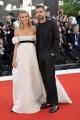 """75th Venice Film Festival 2018, Red carpet film """"First Man"""". Pictured: Fiammetta Cicogna, Carl Hirshmann"""