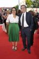 """75th Venice Film Festival 2018, Red carpet film """"First Man"""". Pictured: Antonio Monda E MOGLIE"""