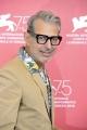 "75th Venice Film Festival 2018, Red carpet film ""The Favorite. Pictured: Jeff Goldblum"