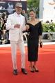 "75 Venice Film Festival , Italy red carpet of the film ""The Mountain""30/08/2018Jeff Goldblum and Emilie Livingston"