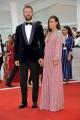 """75th Venice Film Festival 2018, Red carpet film """"Roma"""". Pictured: Alessandro Borghi, Roberta Pitrone"""
