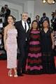 Alfonso Cuarón, Yalitza Aparicio, Nancy García, Marina de Tavira Venezia 2018 film ROMA