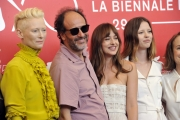 75 Venice Film Festival , Italy Photocall of the film Suspiria01/09/2018Luca Guadagnino,  Tilda Swinton, Dakota Johnson, Mia Goth and Chloë Grace Moretz