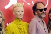 75 Venice Film Festival , Italy Photocall of the film Suspiria01/09/2018Luca Guadagnino and Tilda Swinton