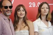 75 Venice Film Festival , Italy Photocall of the film Suspiria01/09/2018Luca Guadagnino and Dakota Johnson