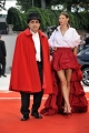 75th Venice Film Festival 2018, Red carpet film The Brothers Sisters . Pictured: Elio, Bianca Balti