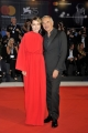 75th Venice Film Festival 2018, Red carpet Kineo Award . Pictured: Stefania Rocca, Carlo Capasa