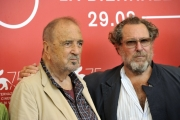75 Venice Film Festival , Italy Photocall of the film At Eternity's Gate.03/09/2018.Jean-Claude Carrière, Julian Schnabel
