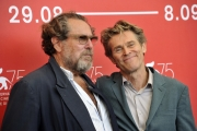 75 Venice Film Festival , Italy Photocall of the film At Eternity's Gate.03/09/2018.Willem Dafoe,Julian Schnabel