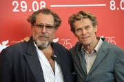 75 Venice Film Festival , Italy Photocall of the film At Eternity's Gate.03/09/2018.Willem Dafoe, Julian Schnabel