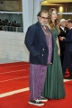 75th Venice Film Festival 2018, Red carpet film At the Eternity Gate. Pictured:  Julian Schnabel,  Louise Kugelberg