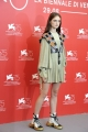 75th Venice Film Festival 2018, Photocall  film Vox Lux . Pictured: Raffey Cassidy