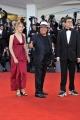75th Venice Film Festival 2018, Red carpet film Vox Lux . Pictured: Albano Carrisi  con i figli Jasmine Carrisi e Albano Jr. Carrisi
