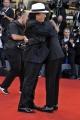 75th Venice Film Festival 2018, Red carpet film Vox Lux . Pictured: Albano Carrisi, Fabio Rovazzi