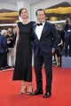 75th Venice Film Festival 2018, Red carpet film Vox Lux . Pictured: Stefano Accorsi, Bianca Vitali