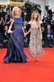 75th Venice Film Festival 2018, Red carpet film Vox Lux . Pictured: Camilla Di Borbone, Chiara Di Borbone