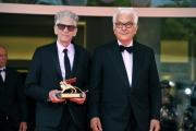 75th Venice Film Festival 2018,Paolo Baratta consegna il Leone D'Oro alla Carriera a David Cronenberg