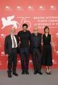 75th Venice Film Festival 2018, Photocall film Una Storia Senza Nome. Pictured: Renato Carpentieri, Alessandro Gassman, Roberto Ando' Micaela Ramazzotti