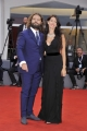 75th Venice Film Festival 2018, Red carpet  film Un People et Son Roi. Pictured: Guido Damiani, Alessandra Villasco