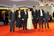 "75th Venice Film Festival 2018, Red carpet film ""Una Storia Senza Nome. Pictured: cast del film Una storia senza nome"