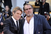 75th Venice Film Festival 2018, Red carpet Cerimonia di Chiusura . Pictured: Willem Dafoe, Julian Schnabel