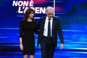 Foto/IPP/Gioia Botteghi 30/09/2018 Roma, Asia Argento a Non é l'Arena de La7 con Massimo Giletti  Italy Photo Press - World Copyright