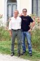 Foto/IPP/Gioia Botteghi 17/10/2018 Roma, presentazione del film in anteprima della festa del cinema di Roma, Questo è mio fratello, nella foto il regista marco Leopardi con il fratello Massimo  Italy Photo Press - World Copyright