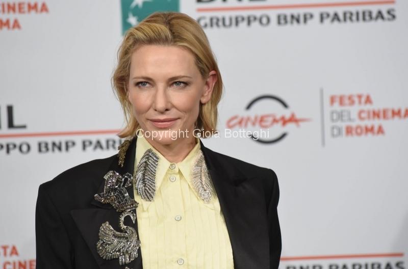 Foto/IPP/Gioia Botteghi Roma19/10/2018 Festa del cinema di Roma 2018, Photocall del filmThe House With a Clock in Its Walls, nella foto :  Cate Blanchett Italy Photo Press - World Copyright
