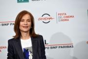 Foto/IPP/Gioia Botteghi Roma20/10/2018 Festa del cinema di Roma 2018, Photocall , nella foto : Isabelle Huppert Italy Photo Press - World Copyright