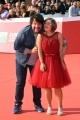 Foto/IPP/Gioia Botteghi Roma 21/10/2018 Roma, Festival del cinema di Roma , red carpet del film Detective per caso, nella foto: Lillo con Emanuela Annini  Italy Photo Press - World Copyright