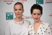 Foto/IPP/Gioia Botteghi Roma24/10/2018 Festa del cinema di Roma 2018, photocall  del film photocall The girl in the Spider's Web nella foto : Claire Foy, Sylvia Hoeks Italy Photo Press - World Copyright