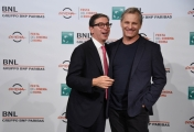 Foto/IPP/Gioia Botteghi Roma24/10/2018 Festa del cinema di Roma 2018, photocall nella foto : Viggo Mortensen con Antonio Monda direttore del festival Italy Photo Press - World Copyright