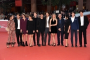 Foto/IPP/Gioia Botteghi Roma25/10/2018 Festa del cinema di Roma 2018, red carpet nella foto : Giuseppe Tornatore con i giovani di Officine Artistiche Italy Photo Press - World Copyright