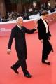 Foto/IPP/Gioia Botteghi Roma26/10/2018 Festa del cinema di Roma 2018, red carpet nella foto : Giorgio Armani con la nipote Roberta Italy Photo Press - World Copyright
