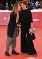 Foto/IPP/Gioia Botteghi Roma26/10/2018 Festa del cinema di Roma 2018, red carpet nella foto : Lucrezia Lante Della Rovere con la sua amica Ilaria Genatiempo Italy Photo Press - World Copyright