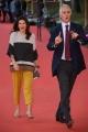 Foto/IPP/Gioia Botteghi Roma26/10/2018 Festa del cinema di Roma 2018, red carpet nella foto : Giovanni Malago con la compagna Italy Photo Press - World Copyright