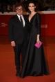 Foto/IPP/Gioia Botteghi Roma 27/10/2018 ultimo red carpet della festa del cinema di Roma 2018, nella foto: Caterina Shula con Marco Belardi  Italy Photo Press - World Copyright