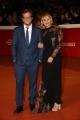 Foto/IPP/Gioia Botteghi Roma 27/10/2018 ultimo red carpet della festa del cinema di Roma 2018, nella foto: Gabriele Muccino e signora  Italy Photo Press - World Copyright