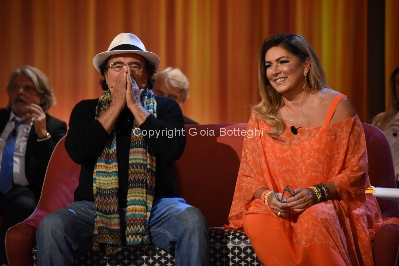 Foto/IPP/Gioia Botteghi Roma29/10/2018 Puntata del maurizio Costanzo show con Romina e Albano Italy Photo Press - World Copyright