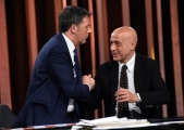 Foto/IPP/Gioia Botteghi18/02/2018 Roma, Annunziata Renzi e Minniti Mezz'ora in piùItaly Photo Press - World Copyright