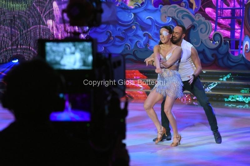 Foto/IPP/Gioia Botteghi 10/03/2018 Roma,  Ballando con le stelle prima puntata, nella foto:   Gessica Notaro e Stefano Oradei  Italy Photo Press - World Copyright