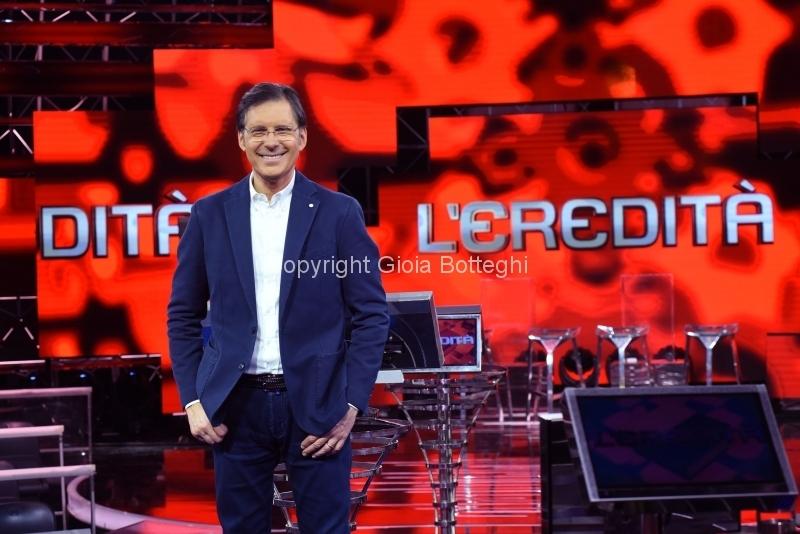 Foto/IPP/Gioia Botteghi 08/02/2018 Roma, L'Eredità con Fabrizio Frizzi Italy Photo Press - World Copyright