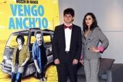 Foto/IPP/Gioia Botteghi 05/03/2018 Roma, presentazione del film Vengo anch'io, nella foto: GABRIELE DENTONI CRISTEL CACCETTA    Italy Photo Press - World Copyright