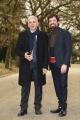Foto/IPP/Gioia Botteghi 01/03/2018 Roma, presentazione della fiction di raidue IL CACCIATORE, nella foto: Francesco Montanari con Alfonso Sabella ex procuratore antimafia Italy Photo Press - World Copyright