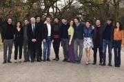 Foto/IPP/Gioia Botteghi 01/03/2018 Roma, presentazione della fiction di raidue IL CACCIATORE, nella foto: cast Italy Photo Press - World Copyright