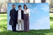 Foto/Gioia Botteghi 29/03/2018 Roma, presentazione del film Quanto basta, nella foto  Vinicio Marchioni + Valeria Solarino + Luigi Fedele   Italy Photo Press - World Copyright