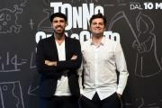 Foto/IPP/Gioia Botteghi 26/04/2018 Roma, Presentazione del film Tonno Spiaggiato, nella foto: il regista Matteo Martinez, Frank Matano  Italy Photo Press - World Copyright