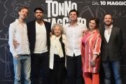 Foto/IPP/Gioia Botteghi 26/04/2018 Roma, Presentazione del film Tonno Spiaggiato, nella foto: cast  Italy Photo Press - World Copyright